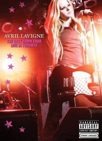 Dvd Avril Lavigne The Best Damn Tour + Revista + Pôster