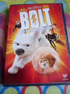 Dvd Bolt Un Perro Fuera De Serie John Travolta