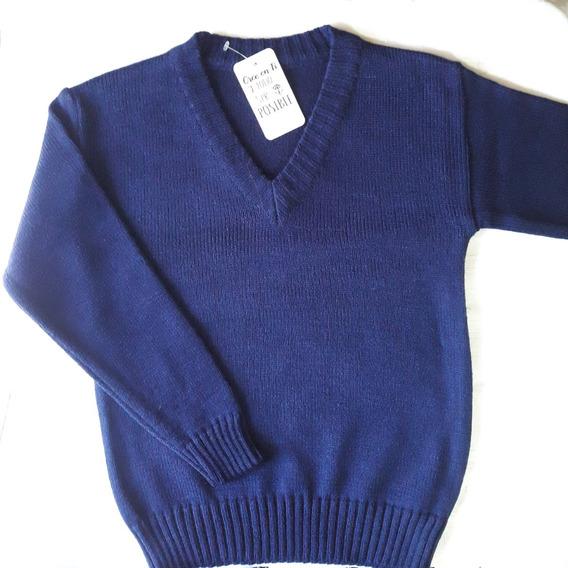 Sweater De Lana Colegial Niño