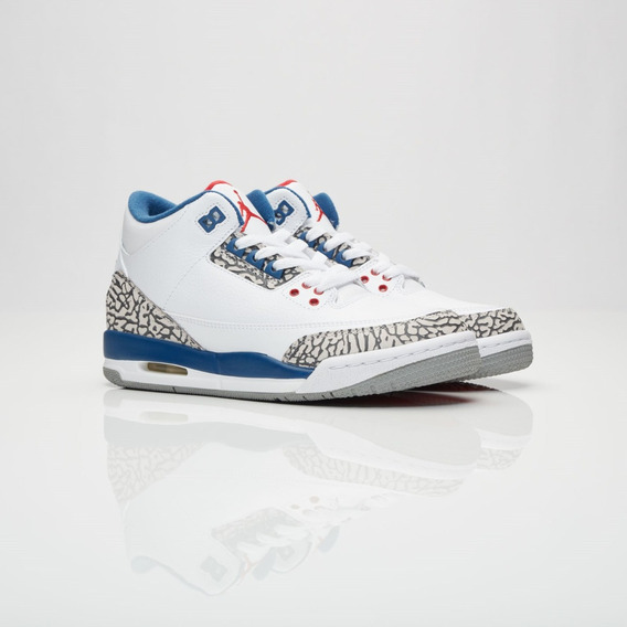 Air Jordan Retro 3 True Blue Og 2016 Gs