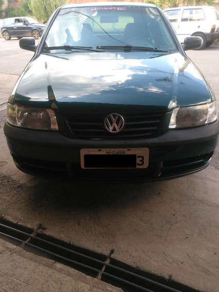 Volkswagen Gol Motor 1.0 16v 2000 Verde 5 Portas