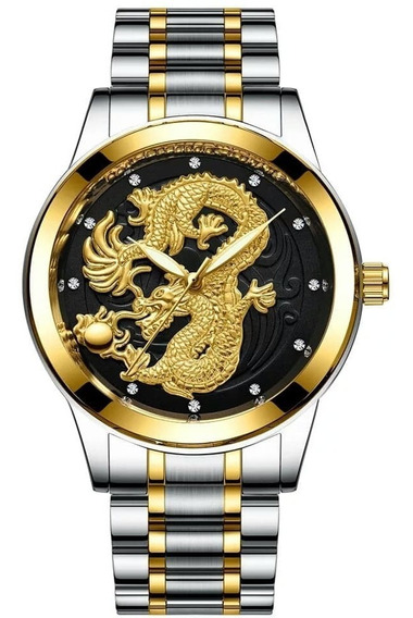 Relógio Fngeen Dragão Quartzo