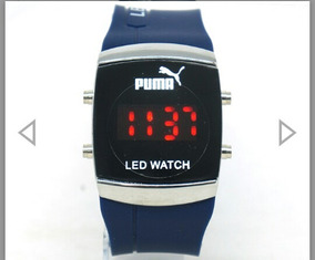Relógio Watch Puma Led