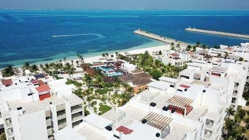 Venta De Departamento Penthause En Cancún Con Vista Al Mar, La Amada Playa Mujeres