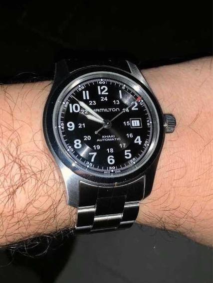 Hamilton Reloj Khaki Field 42 Mm Automático Como Nuevo