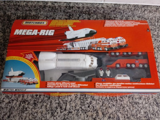 Matchbox Onibus Espacial Mega Rig Space Shuttle Hot Wheels