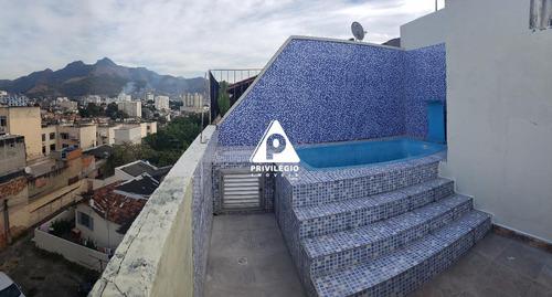 Imagem 1 de 29 de Cobertura À Venda, 2 Quartos, 1 Vaga, Cachambi - Rio De Janeiro/rj - 3594