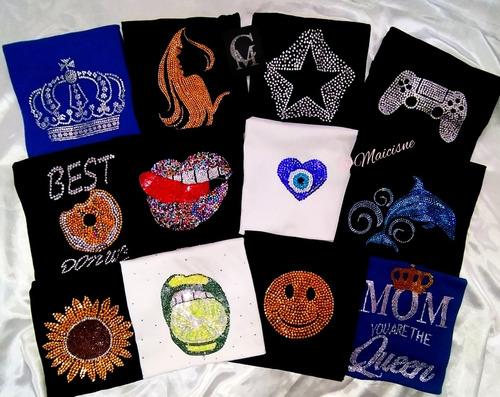 Blusas Para  Damas  Con Pedrería