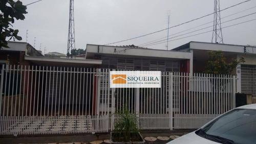Casa Residencial Para Venda E Locação, Vila Trujillo, Sorocaba. - Ca0391