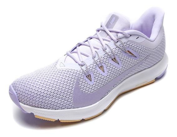 Tênis Nike Quest Roxo E Branco