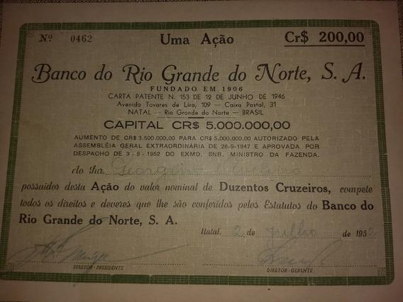 Papéis Antigos Do Rio Grande Do Norte De 1946