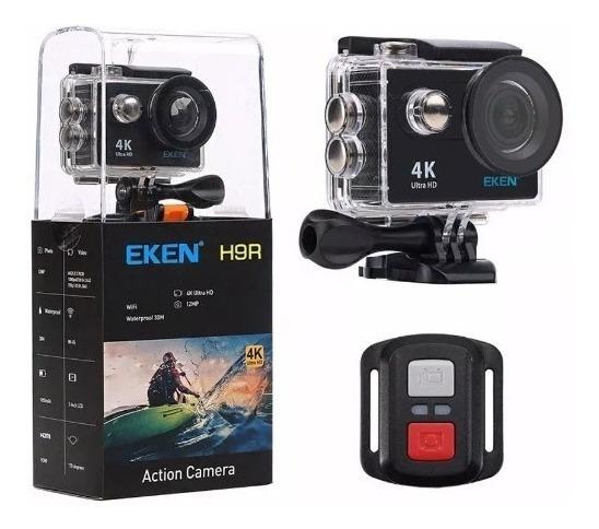 Câmera De Ação Eken H9r + Cartão 32gb + Bateria Extra