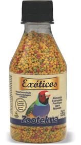 Alimento Extrusado Premium Para Pássaros Exóticos - 150 G