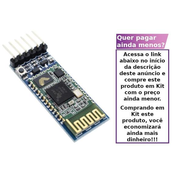 Módulo Bluetooth Serial Hc-05 Shield Arduino Uno Mega Hc05