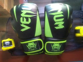 Luva De Boxe/muay Thai Venum New Challenger 16oz + Bandagem