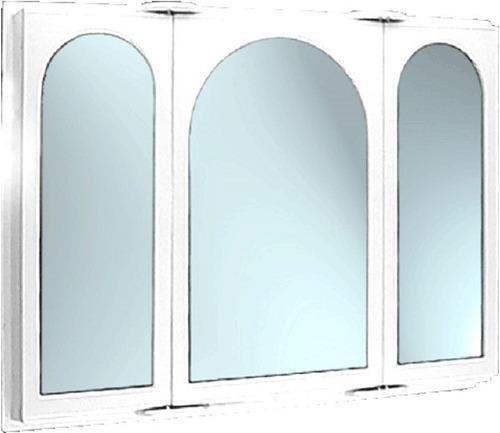Espejo Peinador Botiquin Puertas Capilla Baño 72x52