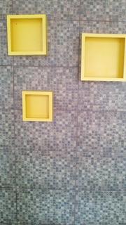 3 Kit D Nicho De Cores Diferentes P/decorar Ambientes 3 Kit