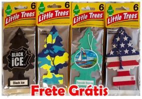 Little Trees Aromatizante Cheirinho Para Carro 3 Unid