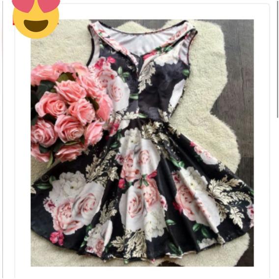 Vestido Estilo Boneca Neoprene Ref4531 54