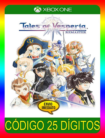 Tales Of Vesperia Definitive Xbox One - 25 Díg (envio Já)