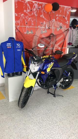 Yamaha Fz150 Azul Amarillo Edicion Especial Mod 2020