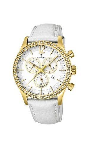 Reloj Festina Sra.cha.cor.esf.blanc.  F16605-1