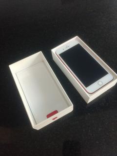 Celular iPhone 7 Plus Red 128gb