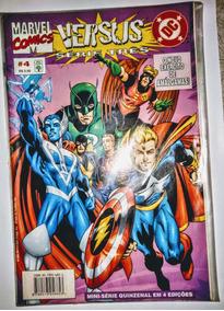 Hq - Marvel Comics Vs Dc Comics - Série Três Nº 4
