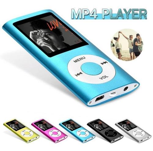Reproductor Mp4 Mp3 Con Pantalla, Radiofm, Musica, Graba Voz