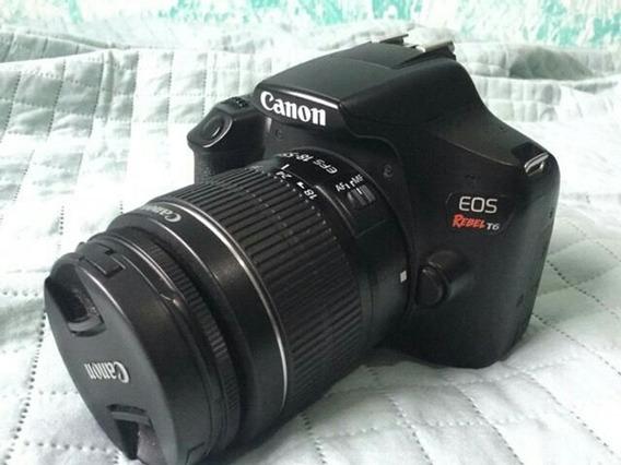 Canon T6i + Lente 18-55