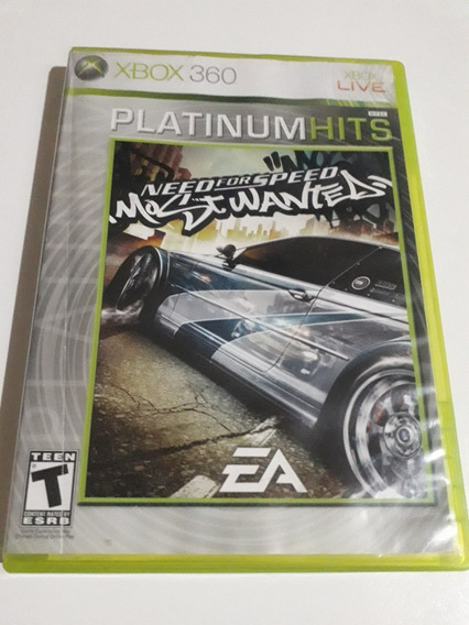 Need For Speed Most Wanted Plat Hits Xbox 360 Mídia Física