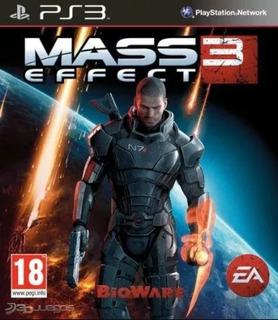 Juego Ps3 Mass Effect 3 Playstation 3 Condicion Impecable