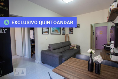 Apartamento No 1º Andar Mobiliado Com 2 Dormitórios E 1 Garagem - Id: 892916678 - 216678