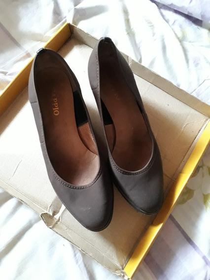Zapatos Dama Taco Chino Talle 37