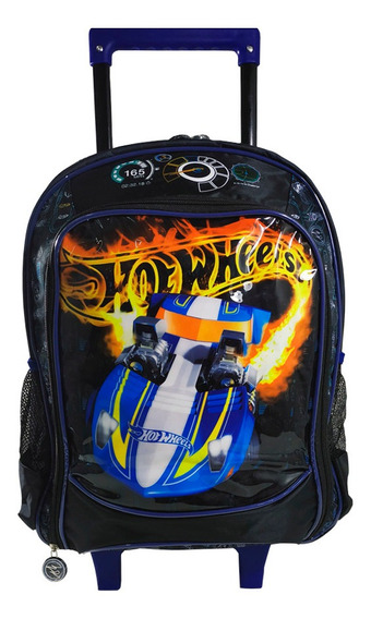 Mochilete Infantil Hot Wheels Ic34477 Azul (597258)