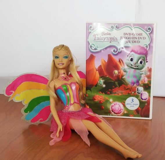 Barbie Hada Magica Con Juego De Dvd