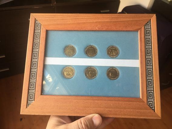 Coleccion Monedas Bicentenario Argentina Enmarcadas