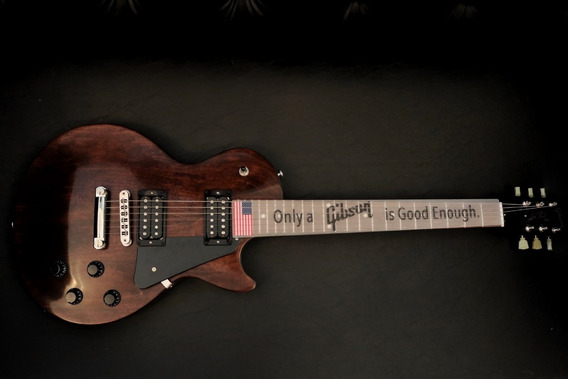 Guitarra Gibson Les Paul Usa Faded Worn Brown
