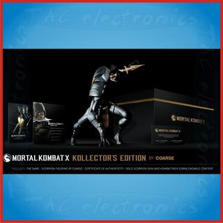 Mortal Kombat X Kollectors + Bonus   Pide Precio Promo !