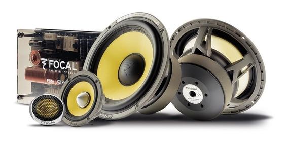 Focal Set Medios Elite K2 Power Es165kx3 6.5 Pulgadas 3 Vías