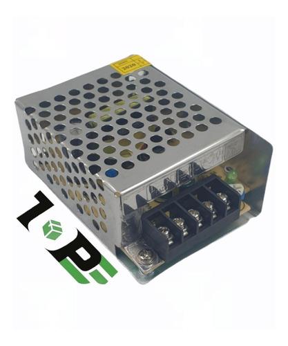 Imagem 1 de 4 de Mini Fonte 12v 5 Amperes Cftv Câmera De Segurança Etc