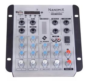 Mesa De Som - Mixer Nanomix Ll Audio Na502r Bt - Usado 1 Vez