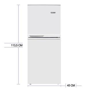 Heladera Con Freezer Kanjihome Kd108f 125lts Altura 113,5 Cm
