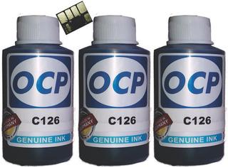 Tinta Alternativa Hp T930 T1520 727 Ocp Alemana 300ml + Chip