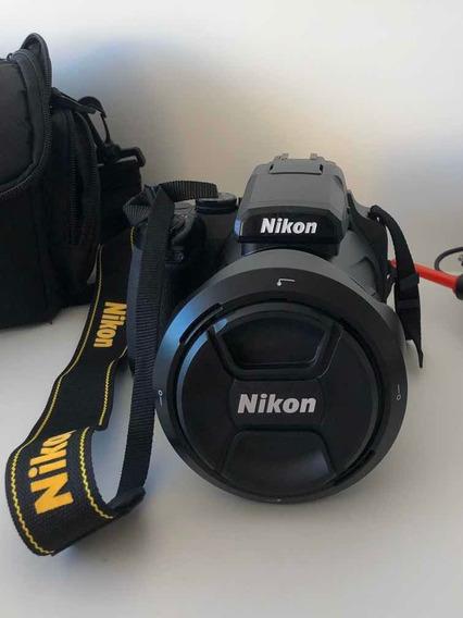 Câmera Digital Nikon Coolpix P1000 Zoom 125x