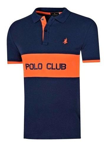 096-843 Playera Importada Hombre Marca Polo Club Mod. 8302