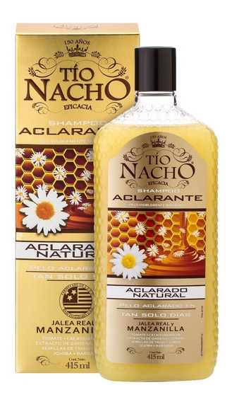 Tío Nacho Shampoo Aclarante X 415ml