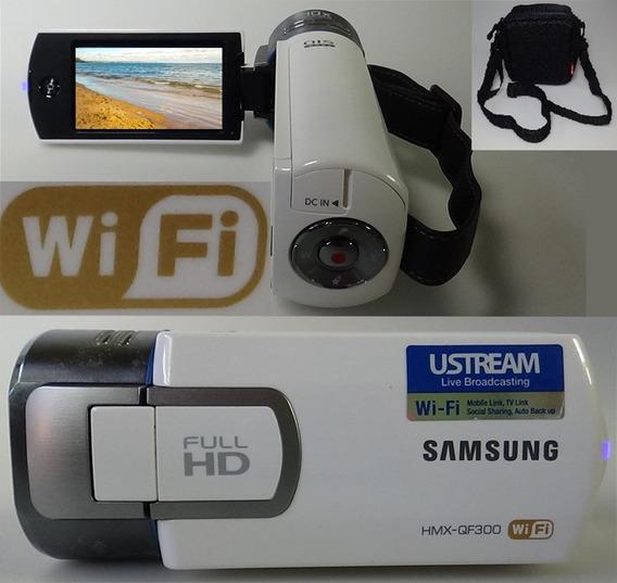 Filmadora Samsung Hmx-qf300 Wifi Full Hd Grava O Tempo