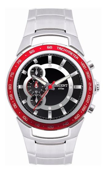Relógio Masculino Orient Cronógrafo Aço Mbssc042