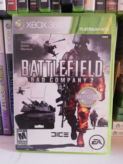 Battlefield Bad Company 2 Xbox 360 Usado